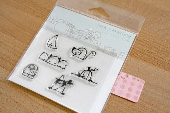 Stamps // HALLOWeenies // adorable halloween stamps // clear stamps // paper crafting // crafting