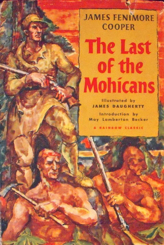 The Last Of The Mohicans A Narrative Of 1757 James Etsy