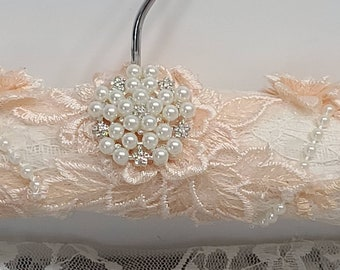 Bridal Gown Hanger, Wedding Dress Hanger, 3D Lace Applique, Hanger For Bride Dress, Hanger For Mother In Law, Mother Of Bride Dress Hanger