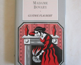 Vintage 80s Hardcover Pocket Books Oxford Classics 1980s Madame Bovary Gustave Flaubert 1987