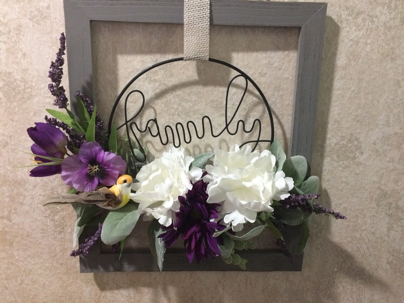 Mother/'s day wreath Mother/'s Day gift wreath for front door door decor family gift gift for her housewarming gift spring wreath