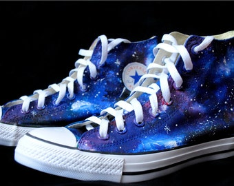 3f61f97d1fe5 Handpainted Galaxy Shoes