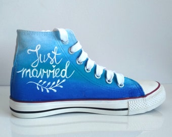 Custom hand painted shoes by MadCandies on Etsy f5915d5aa7ea