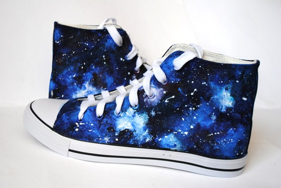 Party Favors Funny Shoes Custom Gift Novelty Shoes Geek Gift Idea Birthday Gifts Galaxy Shoes