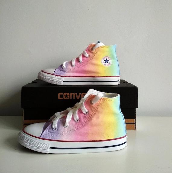 Pastell Galaxie Schuhe Pastell Regenbogen Schuhe Galaxie | Etsy
