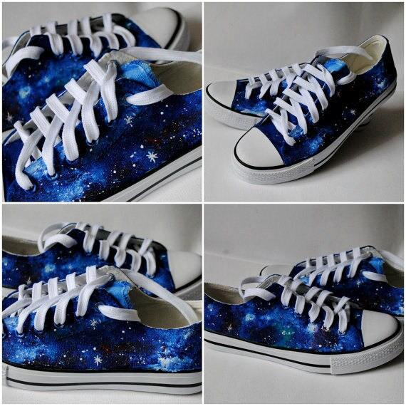 Custom galaxy sneakers galaxy converse