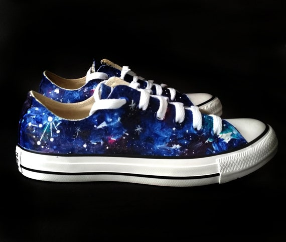 Libra Constellation shoes, custom astrology shoes, Libra gift, celestial  shoes, zodiac gift, galaxy shoes