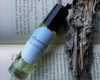 Aquamarine Essential Oil Roller Ball Perfume