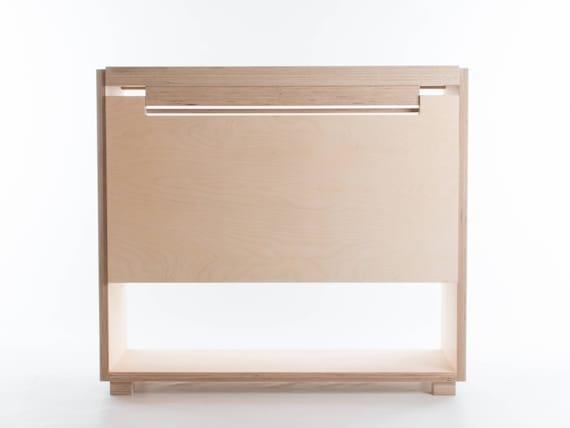 Drop Leaf Tablet Desk Folding Desk Side Table Storage Etsy