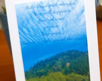 Card: Make Peace with Mistakes