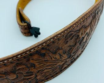 rifle Men/'s customized gun sling adjustable Buck stitch hand painted. shotgun