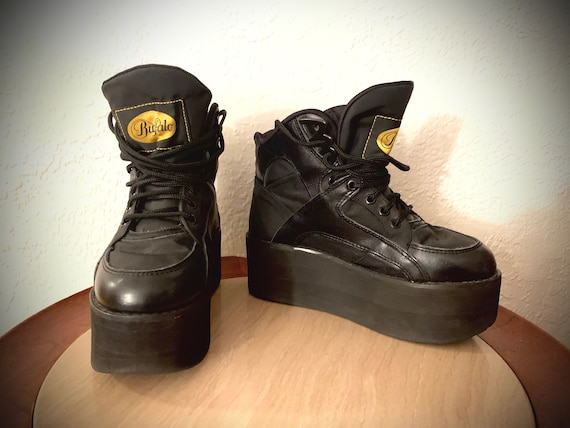 Buffalo David Bitton Platform Sneakers Vintage 90'