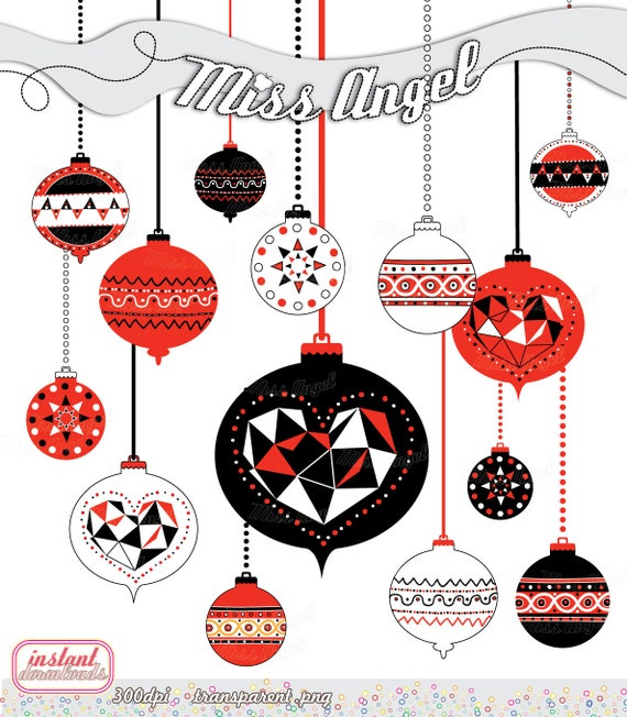 image 0 - Christmas Ornaments Clipart