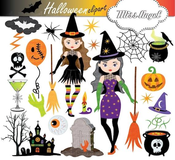 Halloween Witch Clip Art