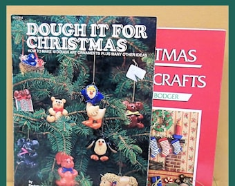 Christmas Dough Crafts - Ornaments - Wreaths -  How To - Fun for the Family - At Home Crafts