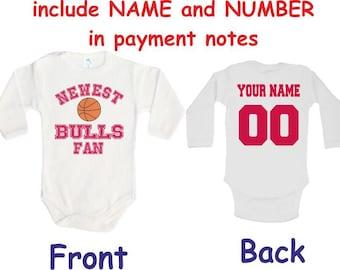 brand new f1a9c cd4ce Chicago bulls infant | Etsy