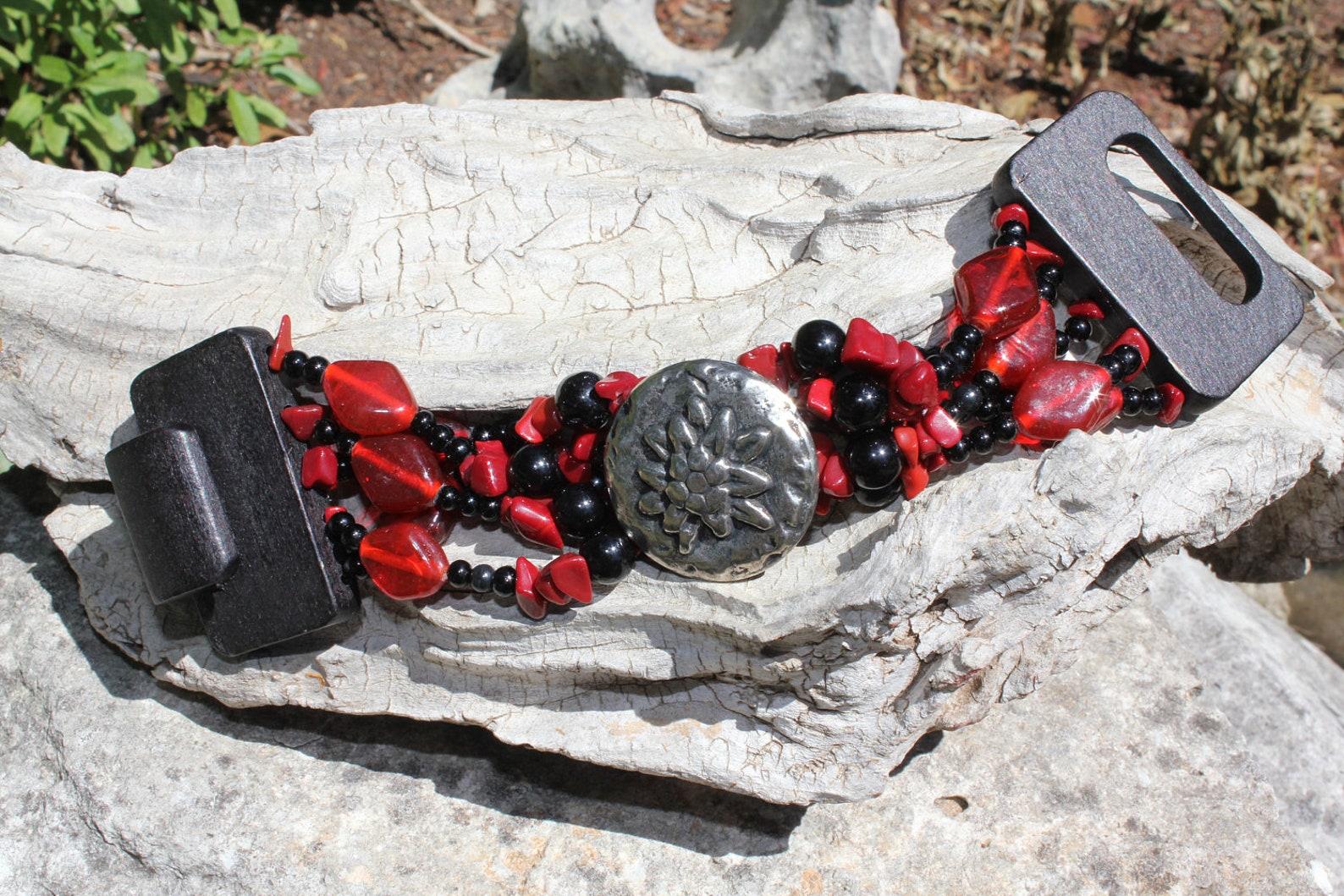 Chunky Edelweiss Bracelet