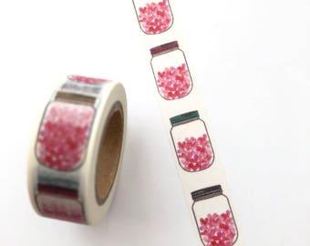 Jars washi tape   Etsy