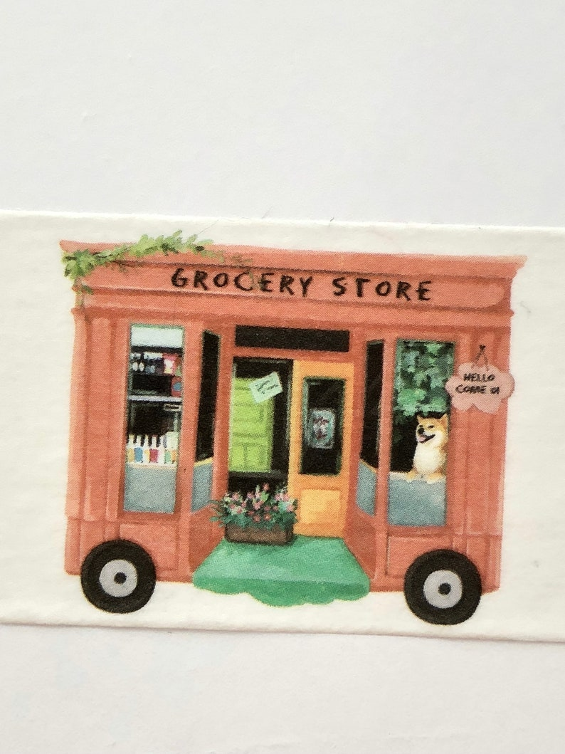 Food Truck Washi Tape Store Front Washi Tape