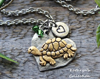 Turtle Necklace, Turtle Jewelry, Read Full Listing Details