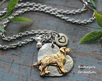 Golden Retriever Necklace Etsy