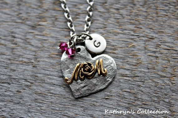Mom Necklace Mom Jewelry Mothers Day Gift Moms