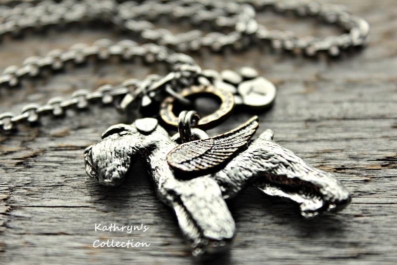 Schnauzer Angel Schnauzer Memorial Necklace Schnauzer Necklace Read Listing Details Pet Memorial Jewelry Schnauzer Natural Floppy Ears