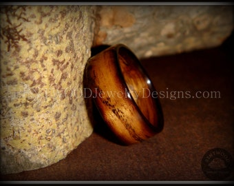 """Bentwood Ring - """"Ole Smoky"""" Olive Wood Ring  - custom handcrafted steam bent wood rings - durable, unique, one-of-a-kind wearable art."""