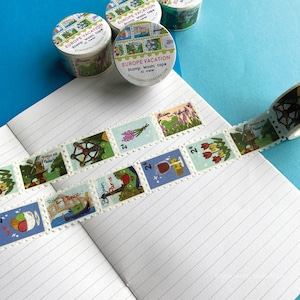 Kawaii Washi Planner Tapes washi tape nature forest  woods Little Trees