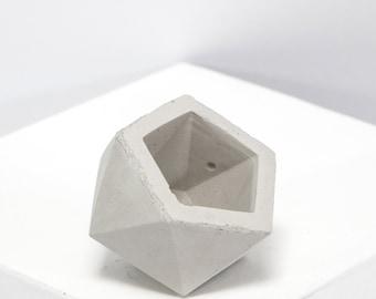 Mini Concrete Geometric Ico Plain
