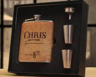 Personalized Groomsman Flask, Groomsmen Flasks, Gifts for Groomsmen, Flask for Groomsman, Flask, Gift, Flasks, Gifts, Flasks for Men, Custom