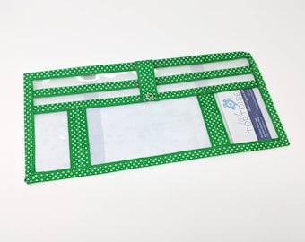 Custom Visor Organizer- 4-pocket  - Car Organizer - Pockets for Phone, Catalogs, Pen and Notebook
