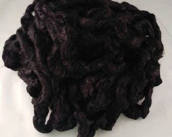 1 oz Black Bamboo Top hand dyed