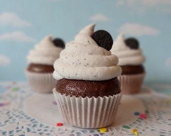 Fake Cupcake Handmade Chocolate Cookies N Cream Faux Sandwich Cookie Fudge