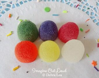 Fake Candy Rainbow LARGE Gumdrops Display Food Prop Decor