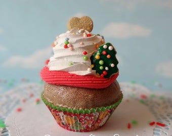 Fake Cupcake Realistic Christmas Holiday Faux Sugar Cookies