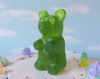 Fake Candy GIANT Candy Bear Paperweight Gift land Centerpiece