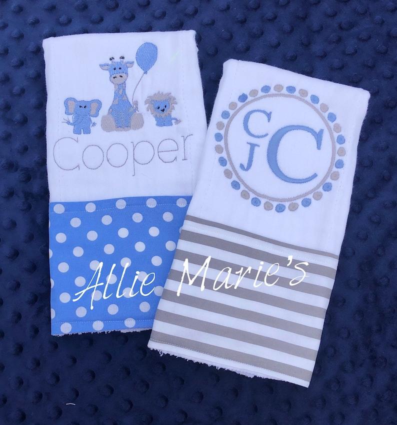 burp cloth set personalized burp cloths Boy Burp cloths western burp cloths custom burp cloths Baby Burp Cloths Baby burp cloth