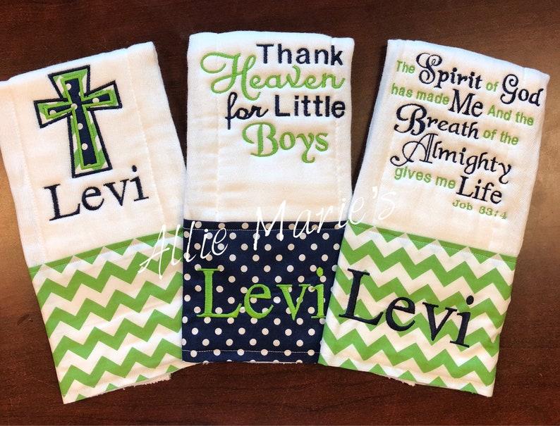 cross burp cloth Embroidered Burp Cloth Burp Cloths Personalized Burp Cloth Monogrammed Burp Cloth Boy Burp Cloth Baby Burp Cloths
