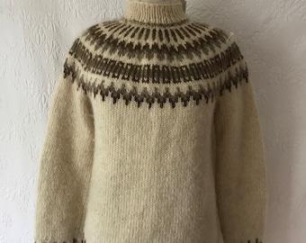 8032046b6a57 Hand spun sweater