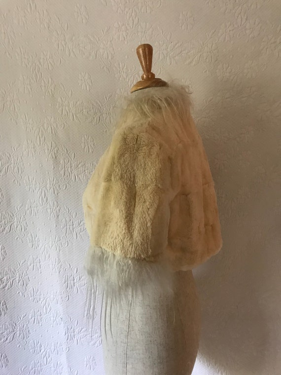 1930s super soft cropped beaver fur bolero