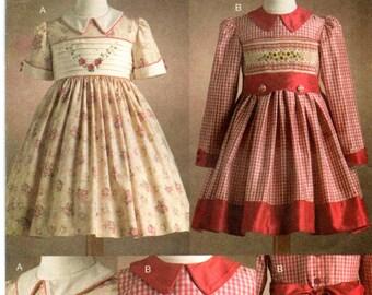 50/'s Vintage Vogue Girls Dress Pattern #2738