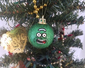 rick ornament pickle rick ornament rick and morty ornament 25 inches