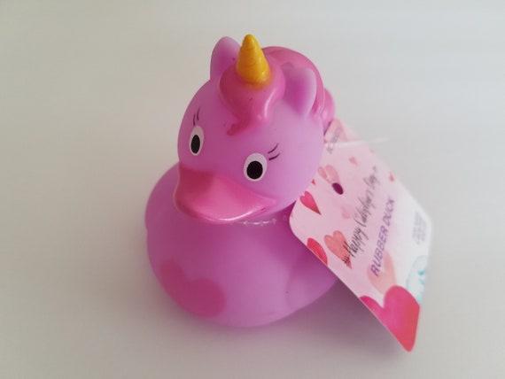 UNICORN RUBBER DUCKY Unicorn Rubber Duck Valentine's Day