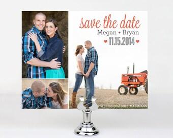 Custom Printable Save the Dates