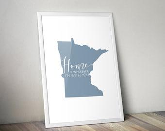 Minnesota Wall Prints