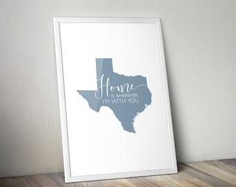 Texas Wall Prints