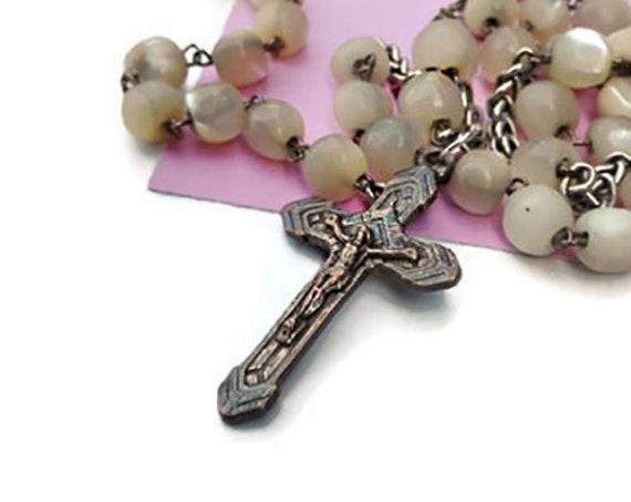 Vintage French Catholic 5 Decade Rosary