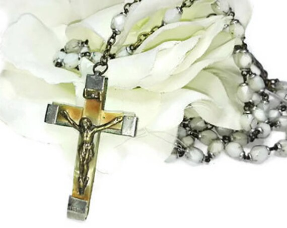 Vintage 5 Decade French Catholic Rosary