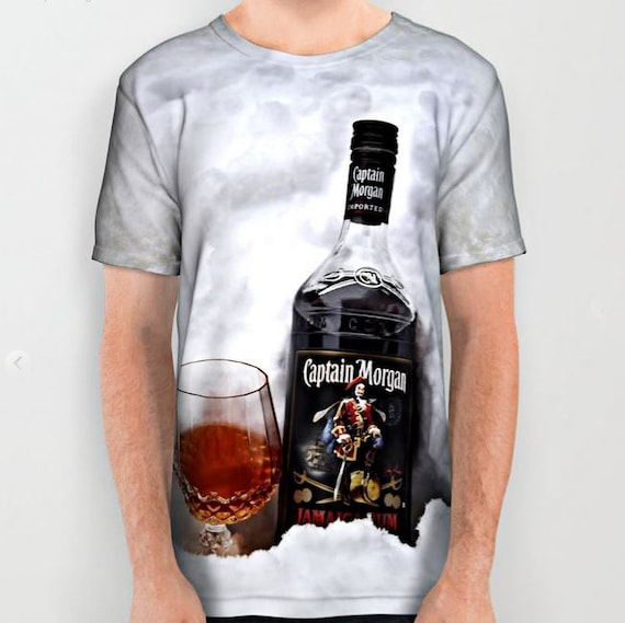 All over print shirts- Captain Morgan Rum